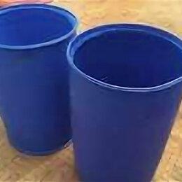 Бочки - Бочка 227 л пропаренная пластиковая , 0