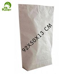 Бумага и пленка - Открытые мешки бумажные 92х50х13 (белый), 0