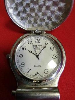 Другое -  часы карманные пилот time quartz japan movt, 0
