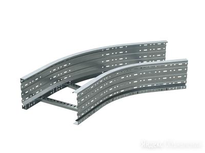 DKC Угол лестничный 45 градусов 100x900, горячий цинк по цене 9114₽ - Кабеленесущие системы, фото 0