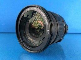 Объективы - Sigma 17-50mm 1:2.8 EX DC OS HSM Nikon, 0