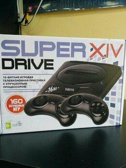 Ретро-консоли и электронные игры - Sega SUPER DRIVE 14 (160 игр), 0