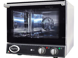 Жарочные и пекарские шкафы - Печь конвекционная Eletto E 0443M Steam, 0