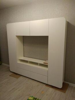 Шкафы, стенки, гарнитуры - Стенка белая, тумба под тв белая , 0