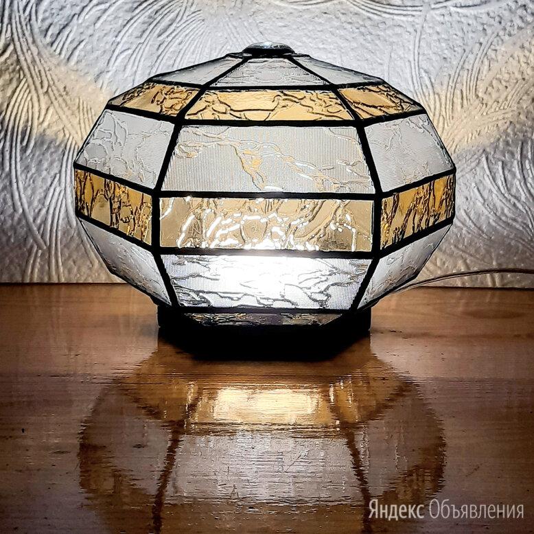 Сферический шестигранный ночник из витражного стекла. по цене 11000₽ - Ночники и декоративные светильники, фото 0
