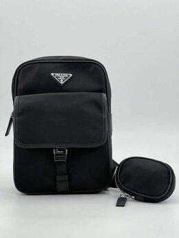 Рюкзаки - Рюкзак - сумка через плечо Prada нейлон черный, 0