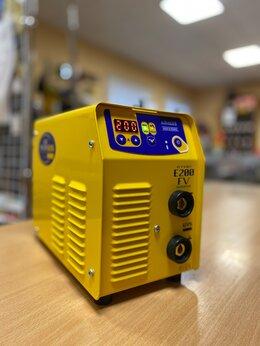 Сварочные аппараты - Сварочный инвертор Gysmi E200 FV в кейсе, Франция, 0
