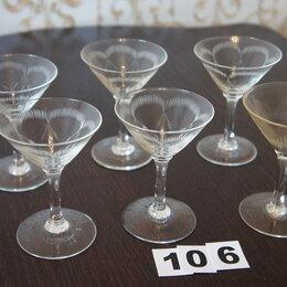 Бокалы и стаканы - Бокалы из прозрачного стекла,6 шт, 0