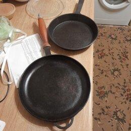 Сковороды и сотейники - Сковорода чугун, 0