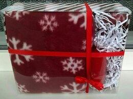 Новогодний декор и аксессуары - Подарочный набор плед и свеча, 0