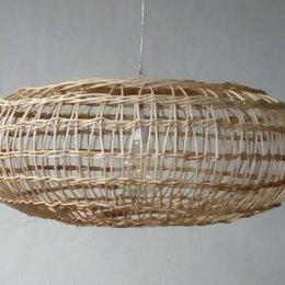 Люстры и потолочные светильники - Абажур люстра лоза ротанг, 0