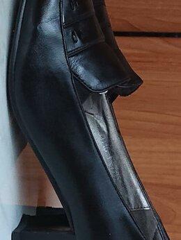 Туфли - Туфли женские черные кожаные, 0