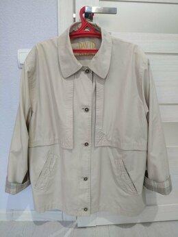 Куртки - Куртка - ветровка, плащёвка. Размер 54-56, 0