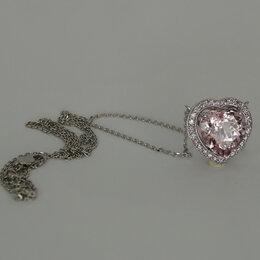 Кулоны и подвески - Подвеска с морганитом и розовыми бриллиантами из…, 0