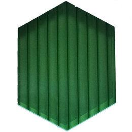 Поликарбонат - Сотовый поликарбонат 6мм изумруд (6м), 0