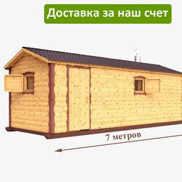 Готовые строения - Баня из бревна 7 на 2,25 метров, 0