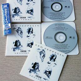 Музыкальные CD и аудиокассеты - Led Zeppelin - BBC Sessions - Mini Vinyl 2CD - Компакт Диск, 0