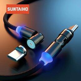Зарядные устройства и адаптеры - Магнитный кабель Type C, 0