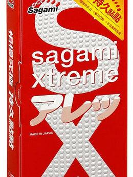 Презервативы - Утолщенные презервативы Sagami Xtreme Feel Long…, 0