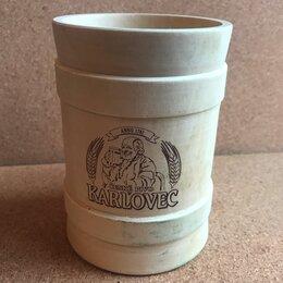 Бокалы и стаканы - Кружка пивная Karlovec Карловец Деревянная, 0