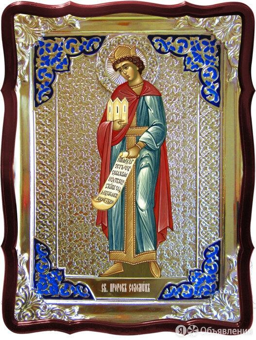 Купить именную икону святого - Святой Соломон пророк  по цене 2744₽ - Иконы, фото 0