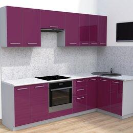 Мебель для кухни - Угловая кухня фасады пластик. Есть другие цвета и размеры, 0