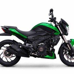 Мототехника и электровелосипеды - Мотоцикл BAJAJ (Баджадж) Dominar 400 UG Зеленый (2021), 0
