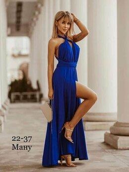 Платья - Длинное модное платье, 0