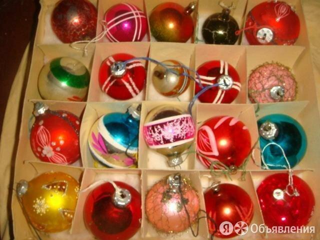 Набор елочных шаров 70 годы по цене 60000₽ - Ёлочные украшения, фото 0