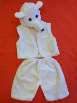 Карнавальные и театральные костюмы - Карнавальный костюм «Белый медведь», 0