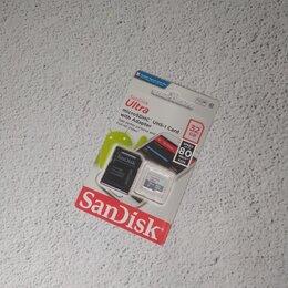 Карты памяти - Карта памяти microsdhc sandisk Ultra 32гб, 80 мб/с, 0