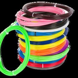 Развивающие игрушки - Пластик для 3D ручек  плавление 200-220 градусов  (по 10 м. поштучно), 0