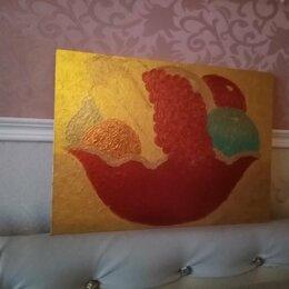 """Картины, постеры, гобелены, панно - Картина""""Фрукты в красной вазе""""(двухсторонняя), 0"""
