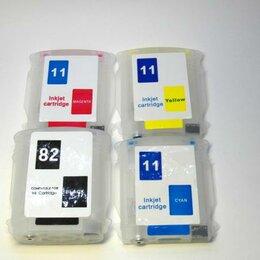 Комплектующие для плоттеров - ПЗК (Перезаправляемый картридж) для плоттера HP DesignJet 111 с авточипом, 0