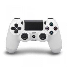 Игровые приставки - PlayStation 4 геймпад gamepad v2 белые, 0