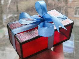 Шкатулки - Шкатулка-коробочка из цветного витражного в…, 0