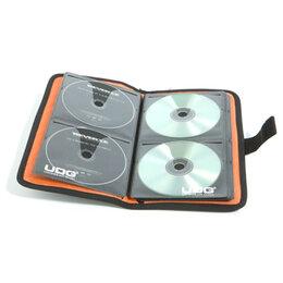 Сумки и боксы для дисков - Папка для дисков UDG CD Wallet 24 Steel Grey/Orange, 0