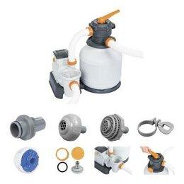 Фильтры, насосы и хлоргенераторы - 58499 Bestway Песочный фильтр-насос 8327л/ч,…, 0