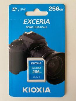 Карты памяти - Карта sdxc Toshiba Kioxia Exceria 256Gb - Новая, 0