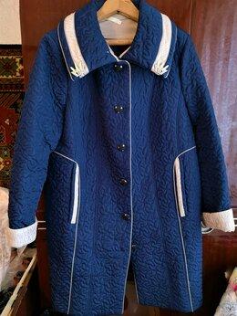 Пальто - Пальто женское новое стёганное 60 размер, 0