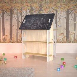 """Рисование - Детский столик для творчества с меловой доской """"Милый дом"""", 0"""