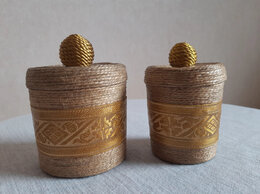 Шкатулки - Две шкатулки-баночки для мелочей, 0