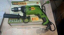 Дрели и строительные миксеры - Дрель ударная Procraft PS-1250, 0