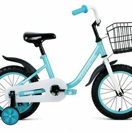 Трехколесные велосипеды - Детский велосипед Barrio 14 мятный (2020), 0