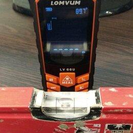 Измерительные инструменты и приборы - Дальномер угломер нивелир, передача на смартфон, 0
