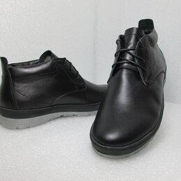 Ботинки - Ботинки из натуральной кожи на натуральном меху, 0