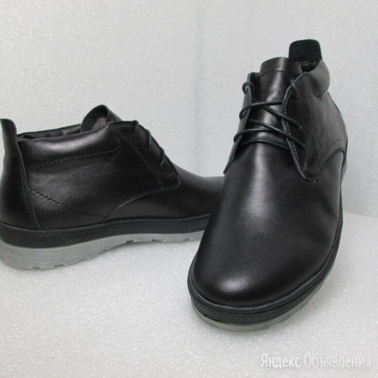 Ботинки из натуральной кожи на натуральном меху по цене 2000₽ - Ботинки, фото 0