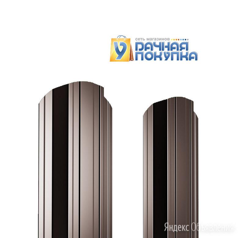 Штакетник металлический П-образный ДВС PE 0,45 мм RAL8017 по цене 38₽ - Заборы, ворота и элементы, фото 0