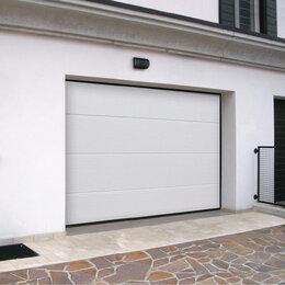 Заборы, ворота и элементы - Секционные гаражные ворота 2х2м (2000х2000мм), 0