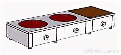 Плита комбинированная Heidebrenner ETK-I-FW 742321 по цене не указана - Промышленные плиты, фото 0